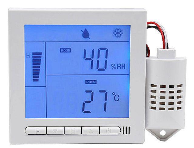 higrómetro y termómetro digital